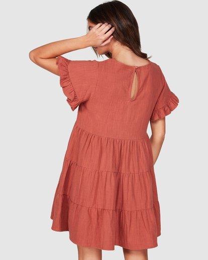 3 Pixie Dress Red JD931BPI Billabong