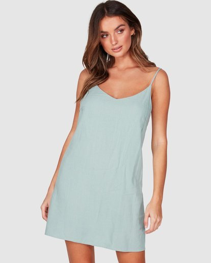 0 Summer Love Dress Green JD941BSU Billabong
