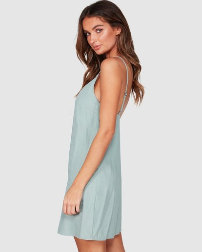 1 Summer Love Dress Green JD941BSU Billabong