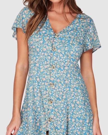 3 Wake Me Up Dress Blue JD951BWA Billabong