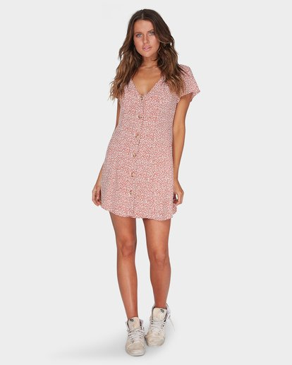 4 Sunlight Dreamin Babylon Mini Dress  JD95TBSU Billabong