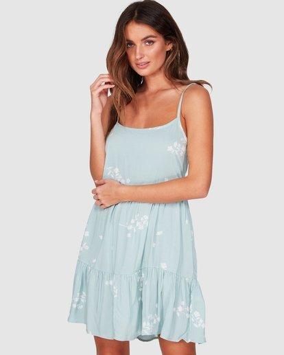 1 Blue Clouds Dress Brown JD961BBL Billabong