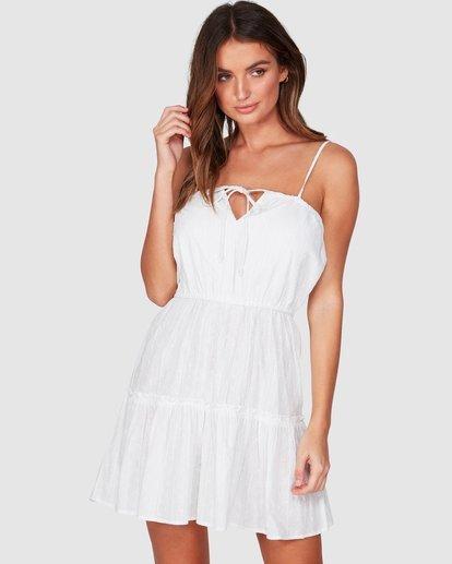 1 Picnic Dress White JD971BPI Billabong