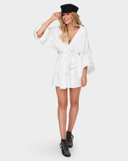 4 The June Dress White JD98SBJU Billabong