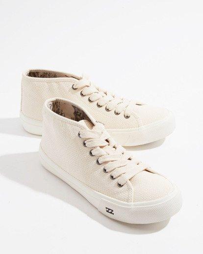 1 Whos That Girl Shoe White JFCT3BWO Billabong