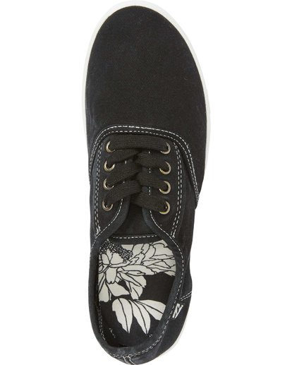 6 Addy Lace Up Shoe Black JFCTQBAD Billabong