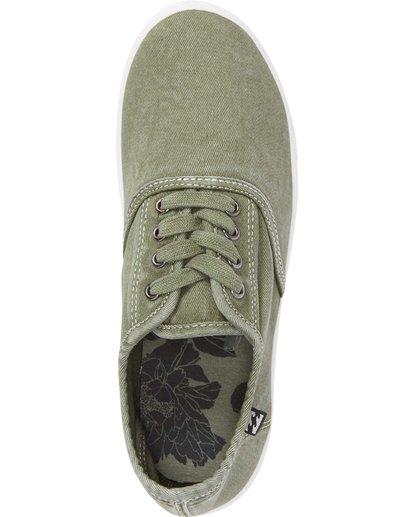 5 Addy Lace Up Shoe Green JFCTQBAD Billabong