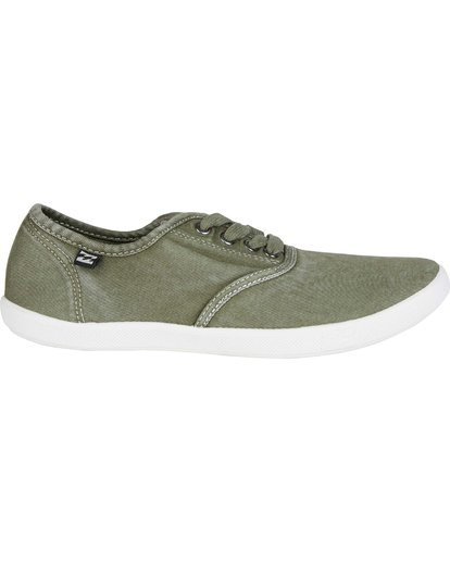 4 Addy Lace Up Shoe Green JFCTQBAD Billabong