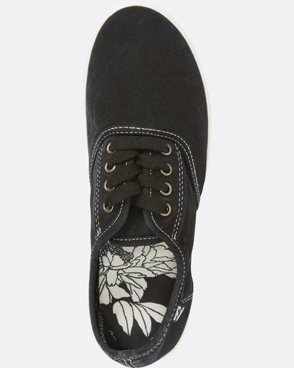 4 Addy Lace Up Shoe Black JFCTQBAD Billabong