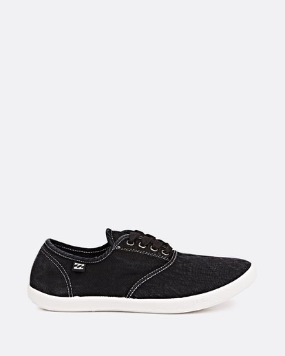 3 Addy Lace Up Shoe Black JFCTQBAD Billabong