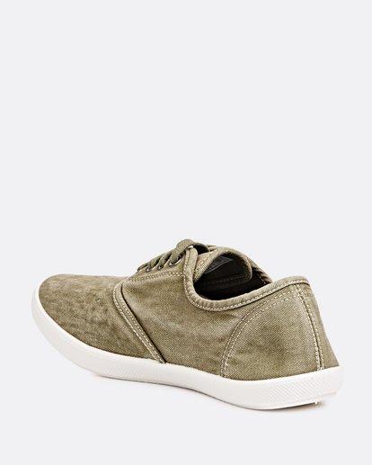 1 Addy Lace Up Shoe Green JFCTQBAD Billabong