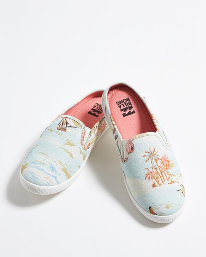 0 Be Free Slip-On Shoe Blue JFCTQBBE Billabong