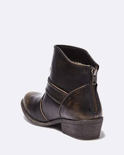 2 Buckle Up Ankle Boot Black JFCTQBBU Billabong