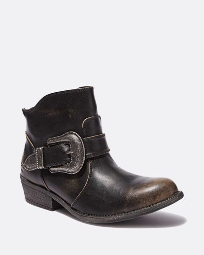 1 Buckle Up Ankle Boot Black JFCTQBBU Billabong