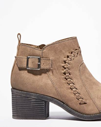 2 Take A Walk Ankle Boot Beige JFCTQBTA Billabong