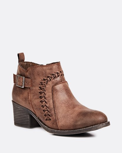 1 Take A Walk Ankle Boot Brown JFCTQBTA Billabong