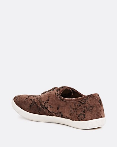 2 Addy 2 Low Top Shoes Brown JFCTSBAD Billabong
