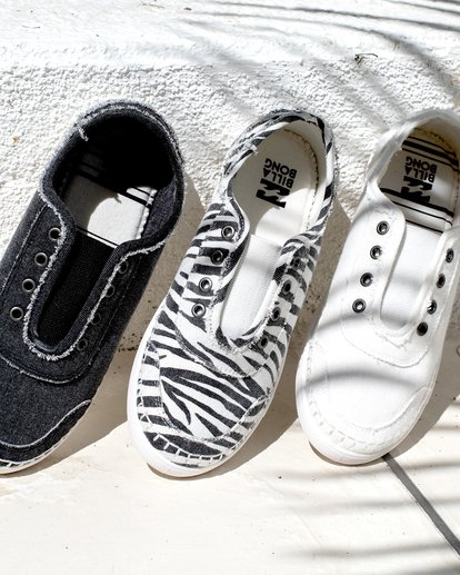 0 Cruiser Slip-On Shoes Black JFCTTBCR Billabong