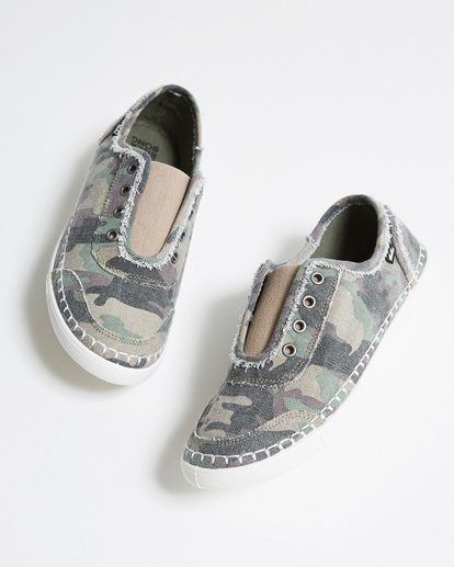 0 Cruiser Slip-On Shoe Camo JFCTTBCR Billabong