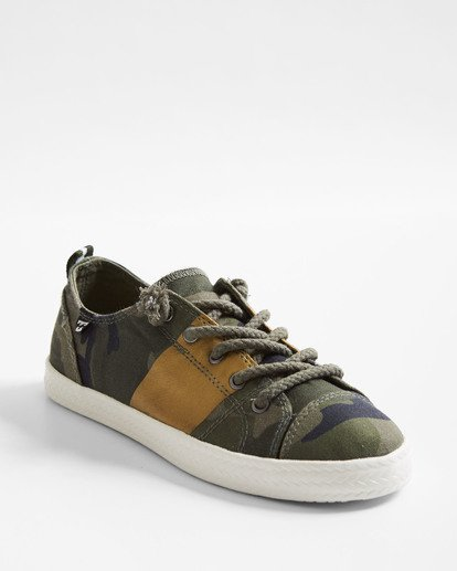 1 Marina Canvas Shoes Camo JFCTTBMA Billabong