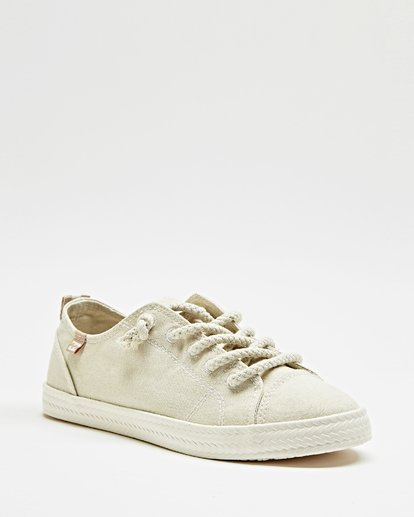 3 Marina Canvas Shoes White JFCTTBMA Billabong