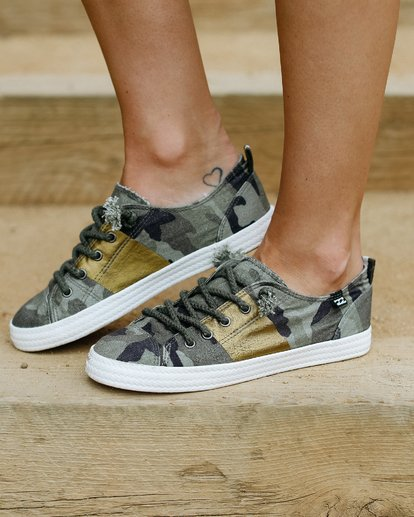 4 Marina Canvas Shoes Camo JFCTTBMA Billabong