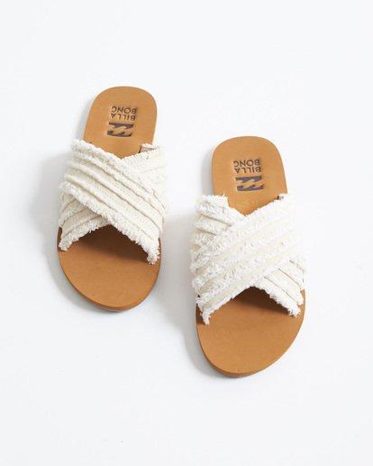 1 High Sea Slide Sandal White JFOT1BHI Billabong