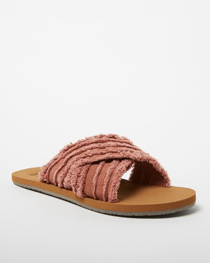 1 High Sea Slide Sandal Red JFOT1BHI Billabong