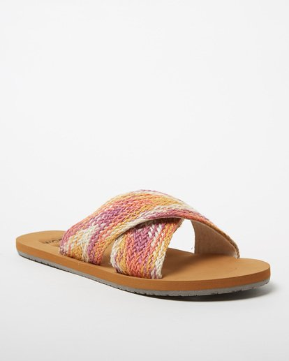 1 Surf Bandit Slide Sandal Grey JFOT1BSF Billabong