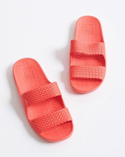 0 Tidal Wave Slide Sandal Pink JFOT1BTI Billabong