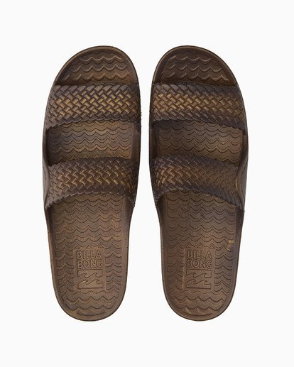 1 Tidal Wave Slide Sandal Brown JFOT1BTI Billabong
