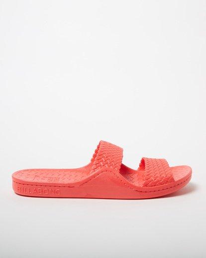 3 Tidal Wave Slide Sandal Pink JFOT1BTI Billabong