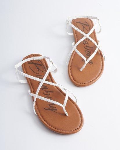 0 Crossing Over Sandals White JFOT2BCB Billabong