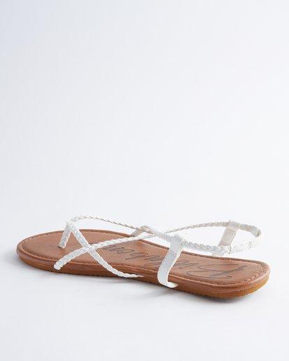 2 Crossing Over Sandals White JFOT2BCB Billabong