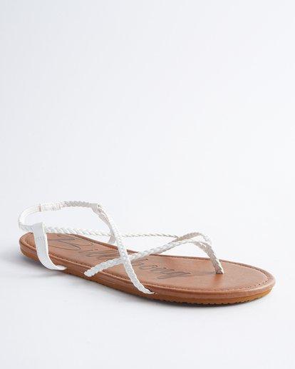 1 Crossing Over Sandals White JFOT2BCB Billabong