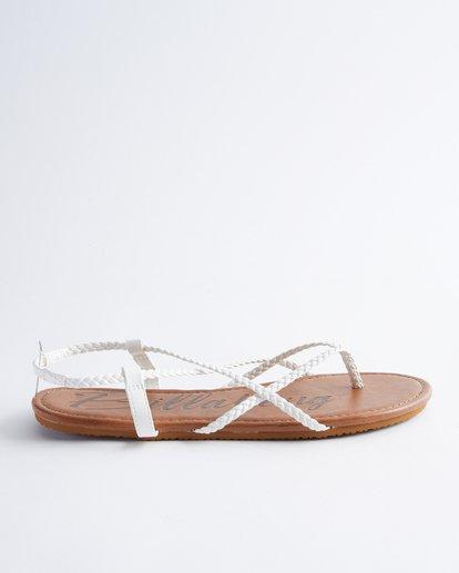 3 Crossing Over Sandals White JFOT2BCB Billabong