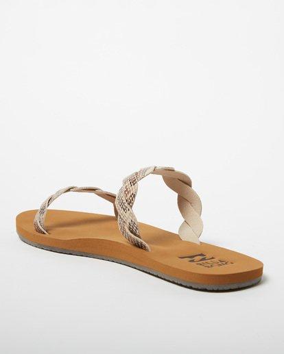 2 Twisty Sandal Beige JFOT2BTW Billabong