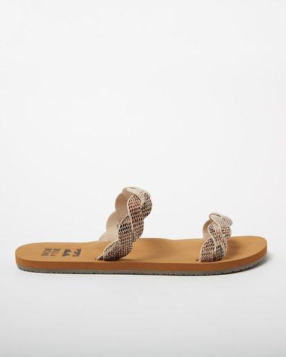 3 Twisty Sandal Beige JFOT2BTW Billabong