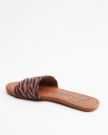 3 High Tide Slide Sandal Multicolor JFOT3BHI Billabong