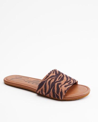 2 High Tide Slide Sandal Multicolor JFOT3BHI Billabong