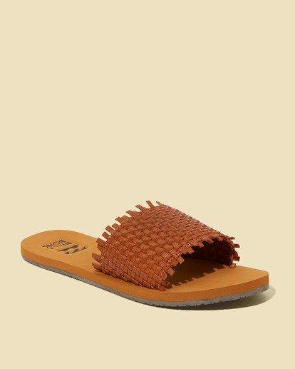 1 Salty Blonde Sunrise Breeze Sandal Beige JFOT3BSU Billabong
