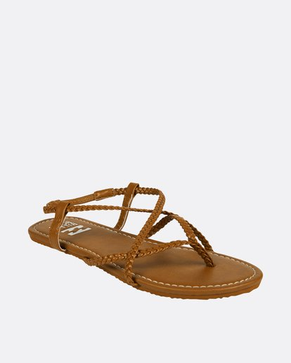 1 Crossing Over Sandal Brown JFOTNBCR Billabong