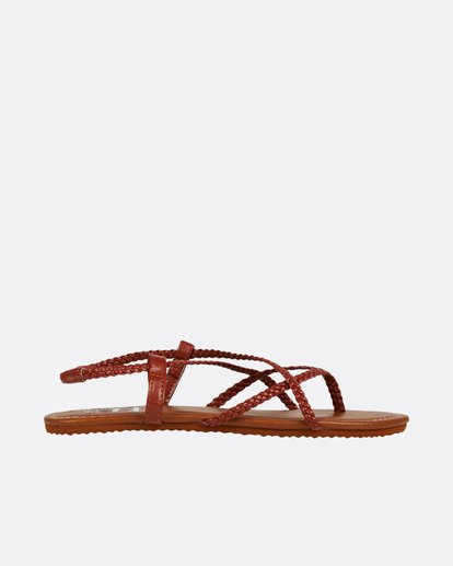 2 Crossing Over Sandal Red JFOTNBCR Billabong