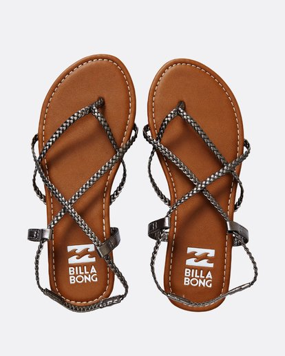 0 Crossing Over Sandal Grey JFOTNBCR Billabong