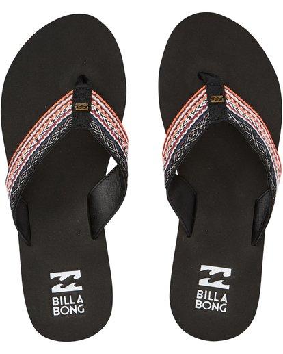 4 Baja Sandals Black JFOTPBBA Billabong