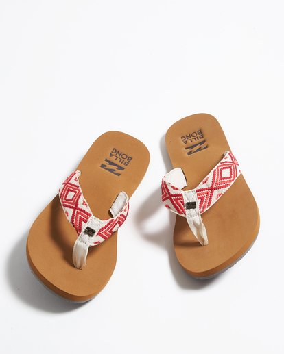 0 Baja Sandals Red JFOTPBBA Billabong
