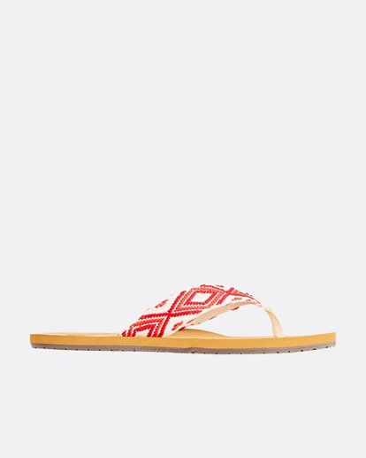 1 Baja Sandals Red JFOTPBBA Billabong