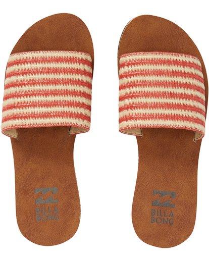 4 Horizon Slide Sandal Pink JFOTPBHO Billabong