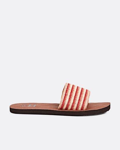 3 Horizon Slide Sandal Pink JFOTPBHO Billabong