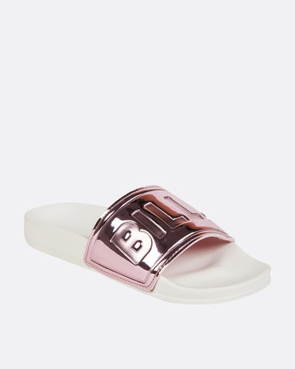 2 Rise N' Shine Slide Sandal Pink JFOTPBRI Billabong